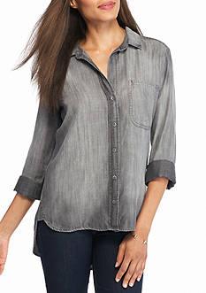 Cloth & Stone Shirt Tail Button Down