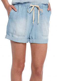 Cloth & Stone Easy Chambray Pocket Short