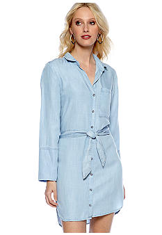 Cloth & Stone Button Down Shirt Dress