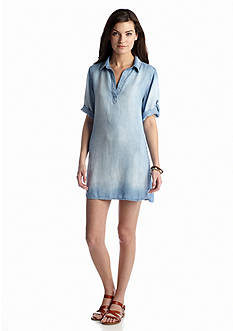 Cloth & Stone Chambray Shirt Dress