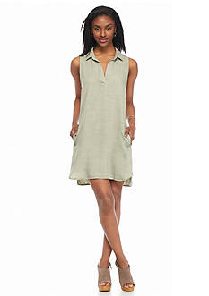Cloth & Stone Sleeveless Shirt Dress