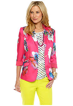 CYNTHIA Cynthia Rowley Notch Collar Blazer