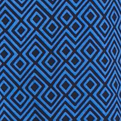 Cynthia Cynthia Rowley Women Sale: Blue Diamond CYNTHIA Cynthia Rowley Diamond Roll Tab Split Neck Top