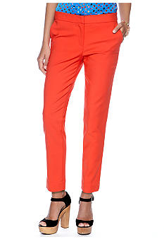 CYNTHIA Cynthia Rowley Polished Ankle Pant