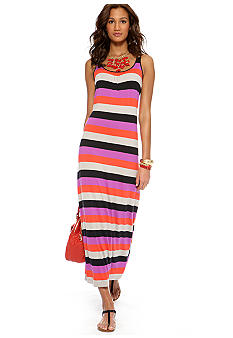 CYNTHIA Cynthia Rowley Stripe Maxi Dress