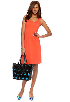 CYNTHIA Cynthia Rowley Fit and Flare Ponte Dress