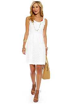 CYNTHIA Cynthia Rowley Sleeveless Lace Dress