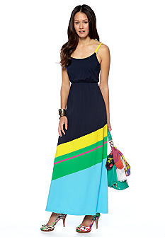 CYNTHIA Cynthia Rowley Printed Maxi Dress