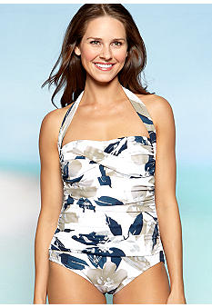 Shapesolver Glamour Halter One Piece Swim Suit