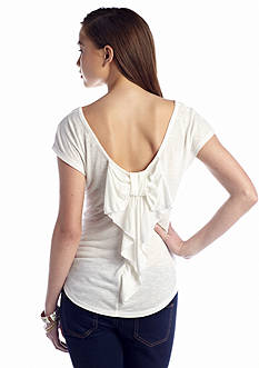 Red Camel® Bow Back Tee