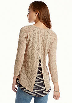 Red Camel® Hacci 2Fer Top