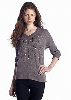 Red Camel® Embellished Front Sweatshirt