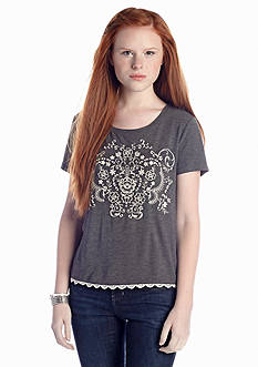 Red Camel® Embroidered Top