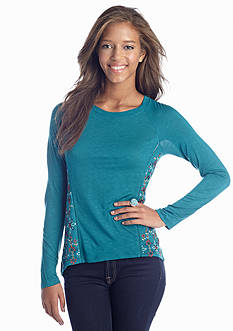Red Camel® Embroidered Knit Top
