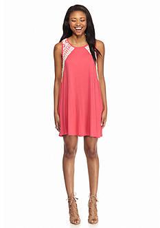 Red Camel Sleeveless Knit Dress