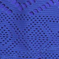 Women: Be Inspired Activewear: Blue Violet / Lemon be inspired Indie Crochet 2Fer Tankini