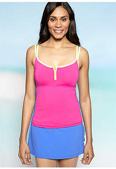 Be Inspired Block Zip Tankini