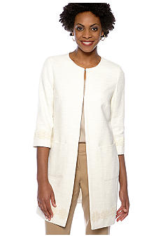 Zacharee Lace Trim Daycoat