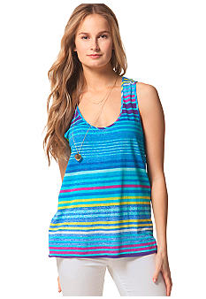 C&C California Stripe Scoop Neck Tank