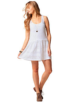 C&C California Crochet Lace Tank Dress