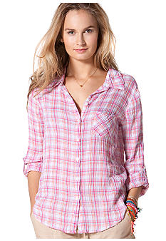 C&C California Plaid One Pocket Shirt