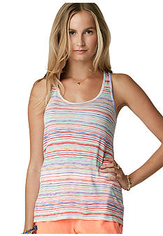 C&C California Hi Lo Stripe Knit Tank