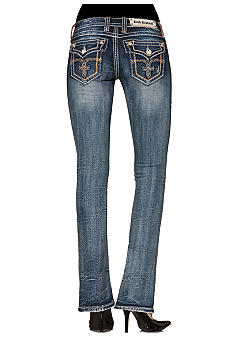 Rock Revival Tricia Flap Pocket Bootcut Jean