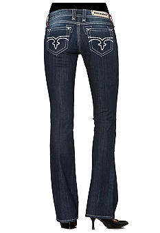 Rock Revival Erin Crystal Embellished Bootcut Jean