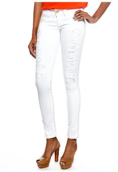 Chord White Destructed Jeans