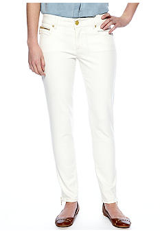 Chord White Ankle Denim