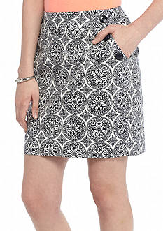 Stoosh Medallion Print Sailor Skirt