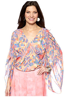 Jazsalyn Kaleidoscope Wing Blouse