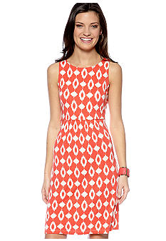Megan Masters Brooke Knit Empire Ikat Dress