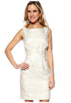 Megan Masters Elizabeth Backless Lace Dress