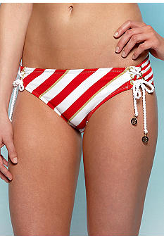 Sperry Top-Sider Tide And True Lace Up Hipster Swim Bottom