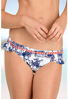 Sperry Top-Sider Ruffle Side Hipster Swim Bottom