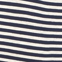 Rebellious One Juniors Sale: Navy/Oatmeal Rebellious One Striped Ringer Tee