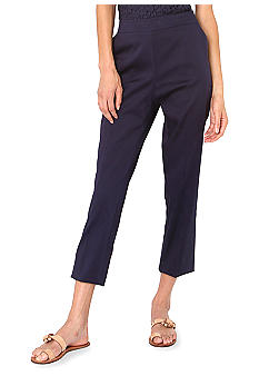 Isaac Mizrahi New York Sateen Crop Pant