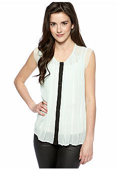 Lily White Color Trim Top