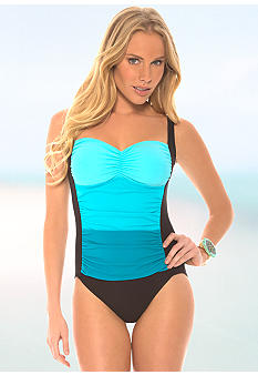 Eco Swim Ombre Tank One Piece