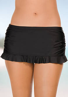 Eco Swim Shirred Side Skirt