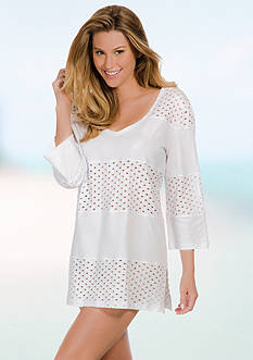Eco Swim V-Neck Tunic Cover Up