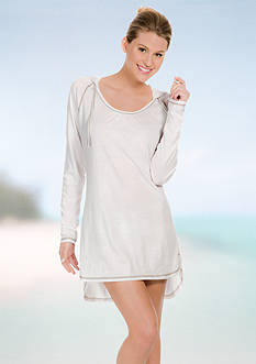 Eco Swim Pullover Hoodie Cover Up