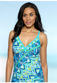Ruby Rd/ Malibu Design Group Nouveau Boho Tankini