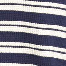 Chip and Pepper: Navy Stripe Chip & Pepper CALIFORNIA Thermal Cowl Neck Stripe Top