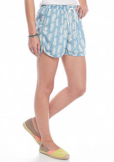 Chip & Pepper CALIFORNIA Pineapple Chambray Shorts