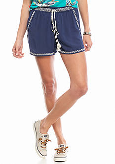 Chip & Pepper CALIFORNIA Embroidered Soft Shorts