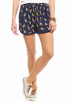 Chip & Pepper CALIFORNIA Parrot Printed Soft Shorts