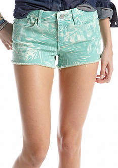 Chip & Pepper® CALIFORNIA Printed Frayed Short