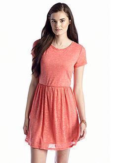 Red Camel® Textured Knit Dress